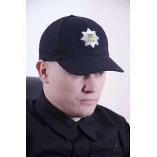 Бейсболка украинской полиции темносиняя не промокает