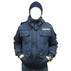 Бушлат для полиции синий -20 C