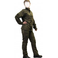 Военная форма женская олива сорт 2